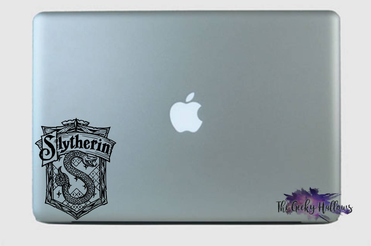 Harry Potter Slytherin Crest Car or Truck Window Laptop Decal Sticker