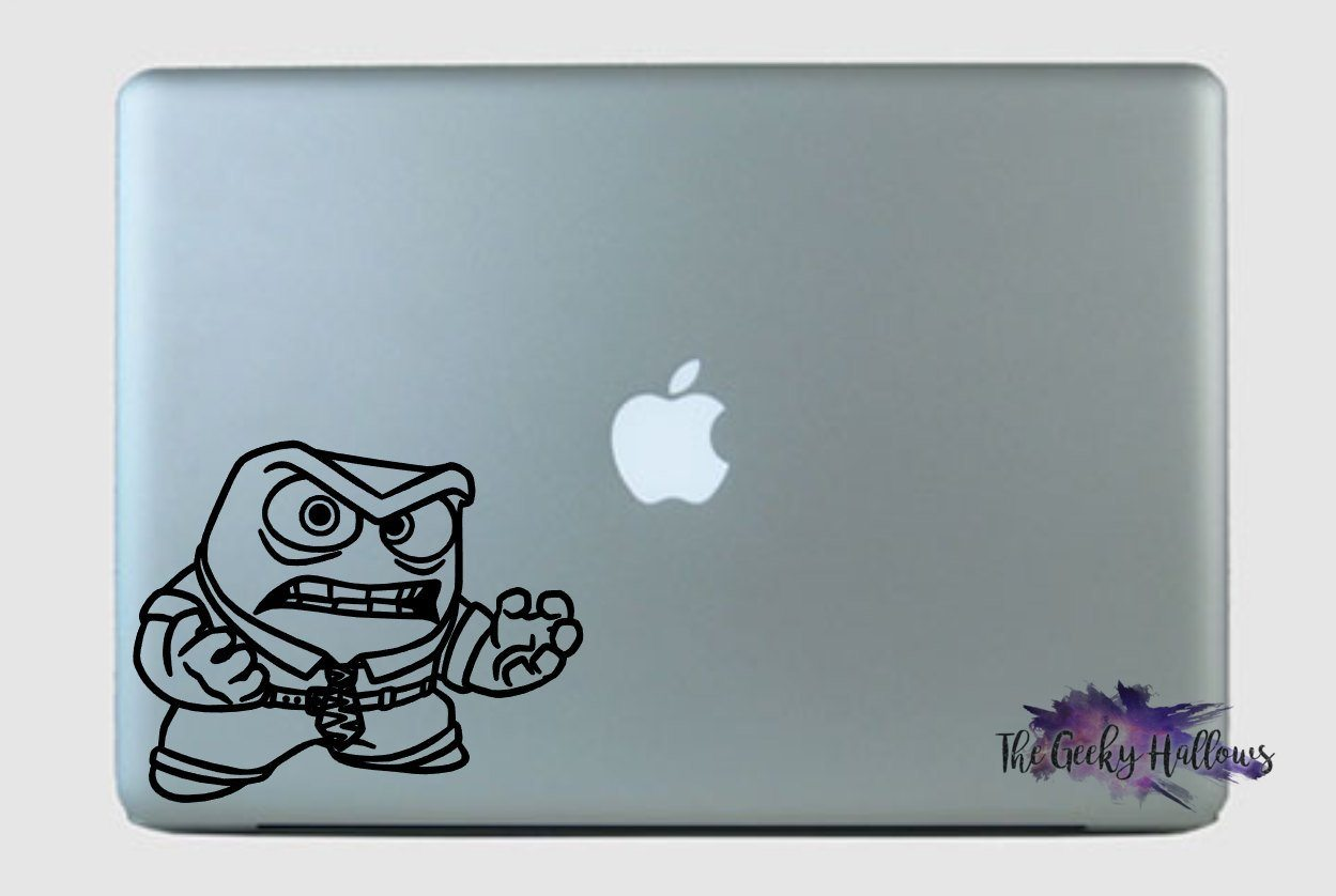 Wall or Laptop Inside Out Disney Decal Vinyl Sticker for Car