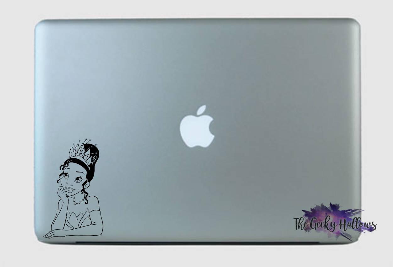 Princess Tiana Bust- Disney - Disney Bound - Princess - Laptop - Window -  Car - Vinyl - Decal - Sticker