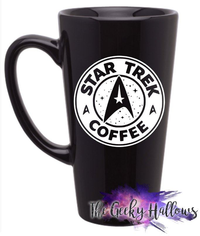 Gift Travel Fandom Star Trek Latte Cup Coffee Mug N8vwOmn0
